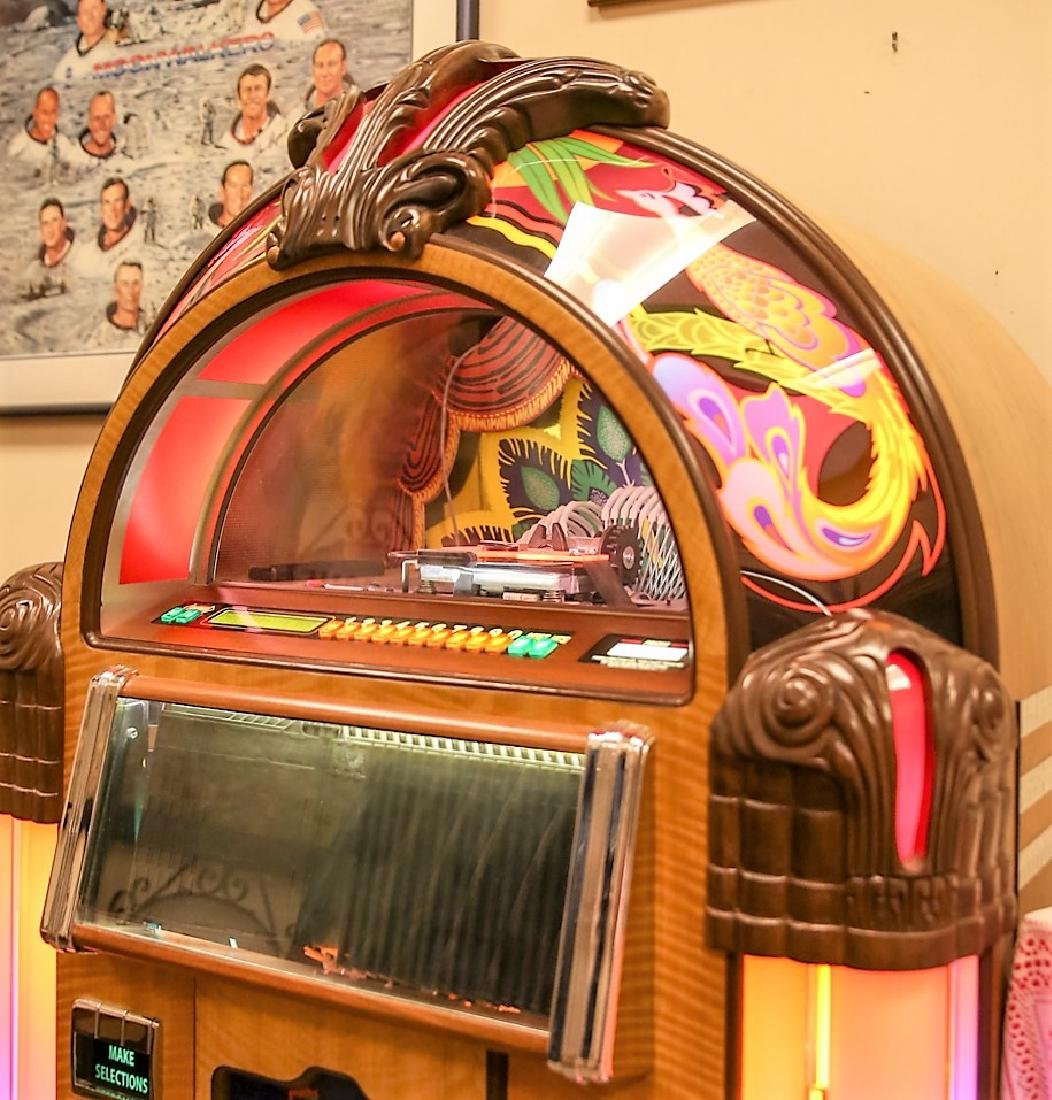 Awesome Rock-Ola Peacock Jukebox TOP CONDITION - 3