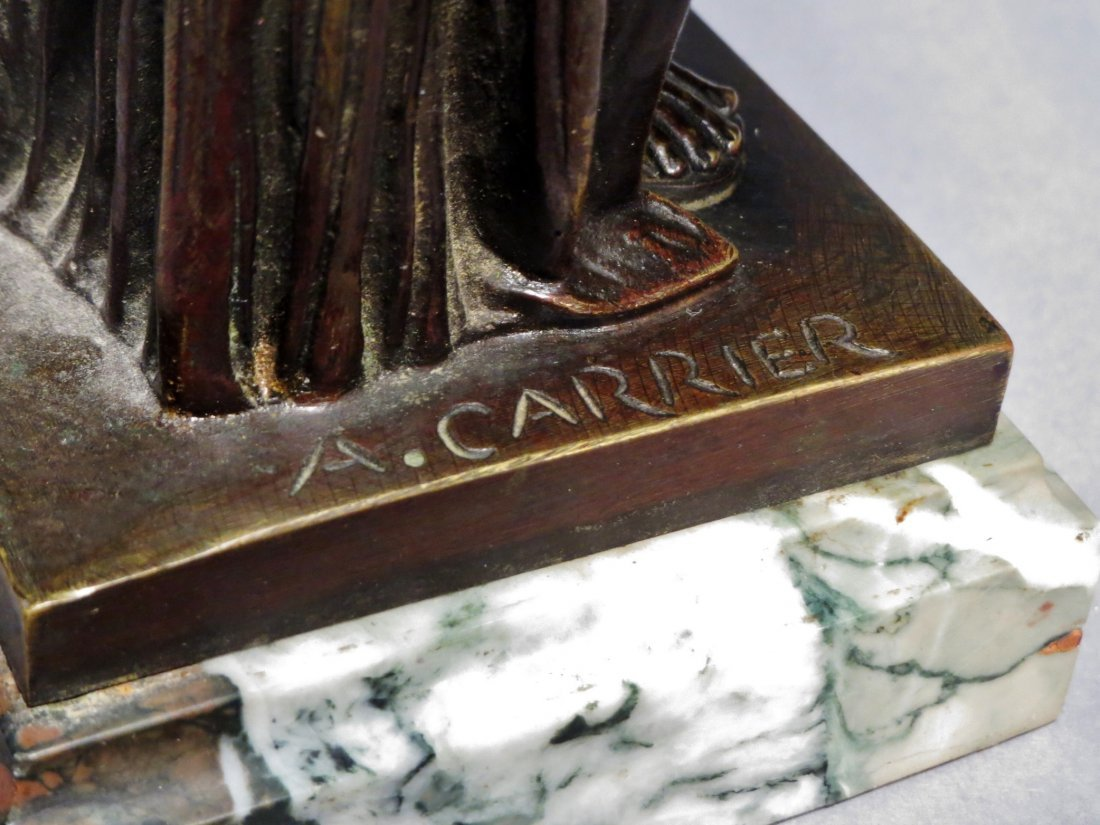 French Bronzes A. Carrier Albert Ernest Carrier  Signed - 4