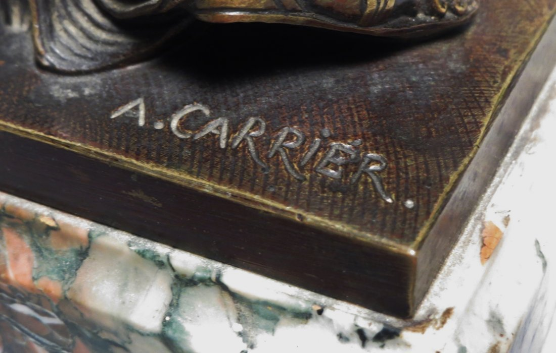 French Bronzes A. Carrier Albert Ernest Carrier  Signed - 5