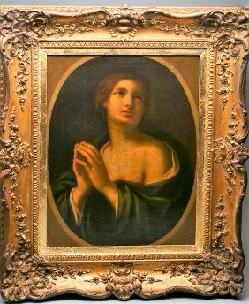 Old Master Painting of a Young Girl, circa 1790