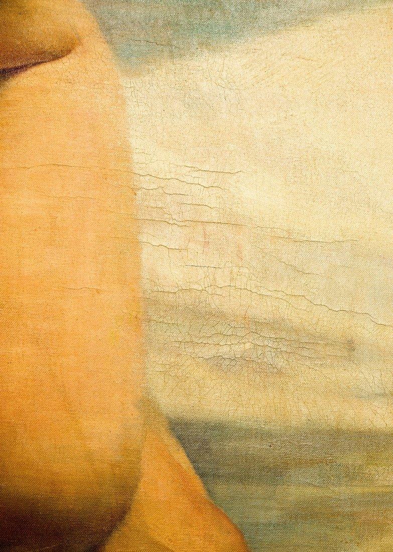 "Geza Kende Oil Painting On Canvas ""Siesta"" - 2"
