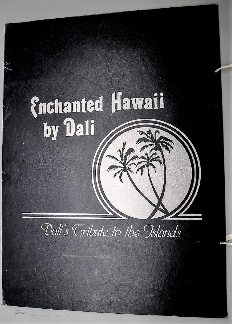 Dali Signed A.P.  Judgement of Paris  Enchanted Hawaii - 2