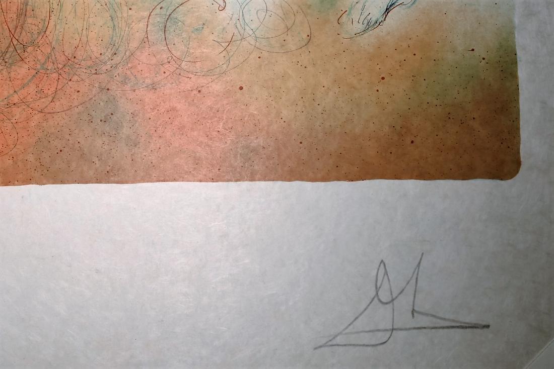 Dali Signed A.P.  Judgement of Paris  Enchanted Hawaii - 3