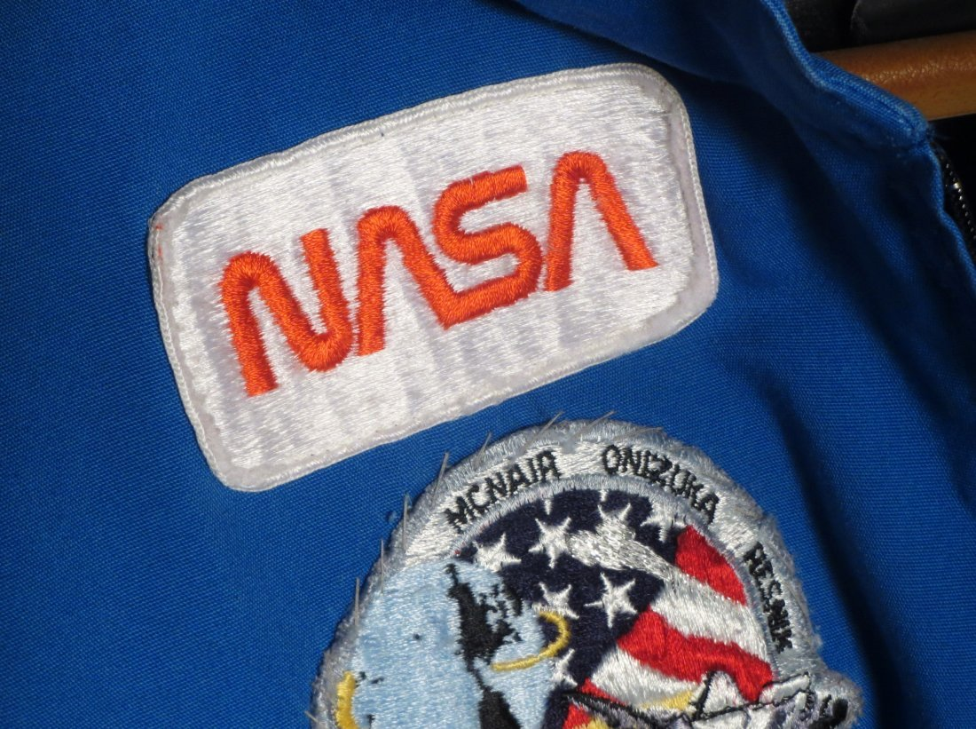 3 NASA Astronaut Jumpsuits w/ Patches + Space Food - 5