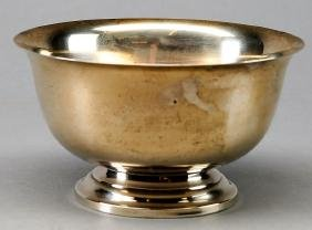 Vintage Sterling Fitton & Loh Exemplar Paul Revere Bowl