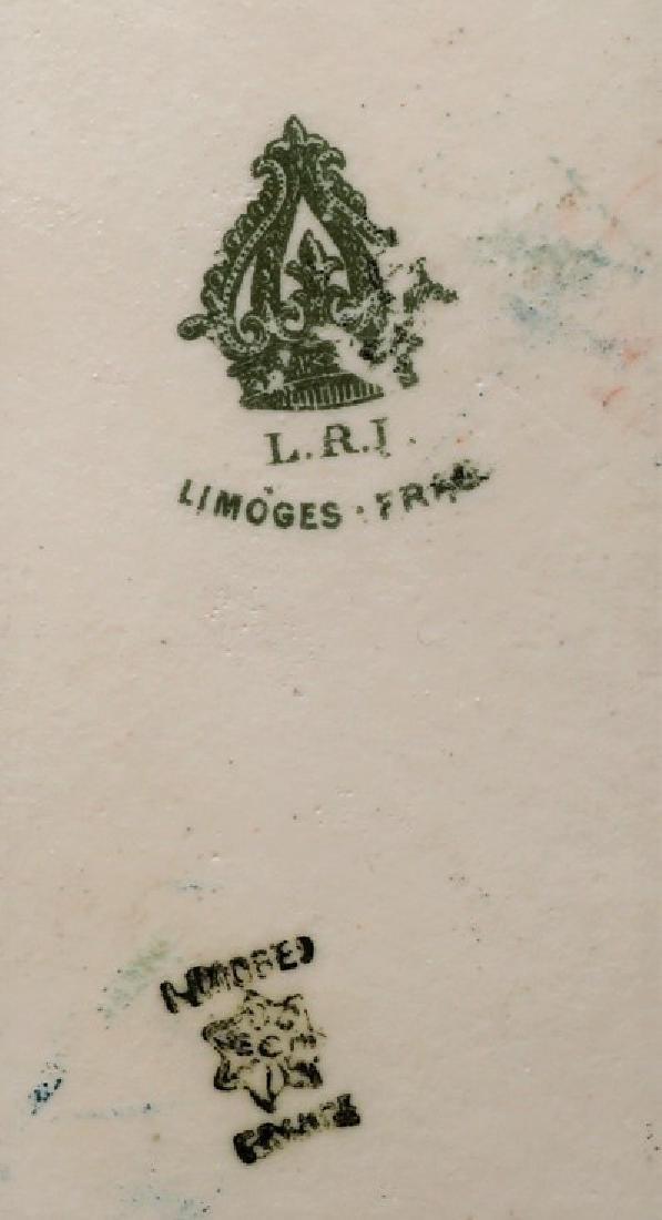 Antique Limoges Hand Painted Dresser Set FAB! - 5