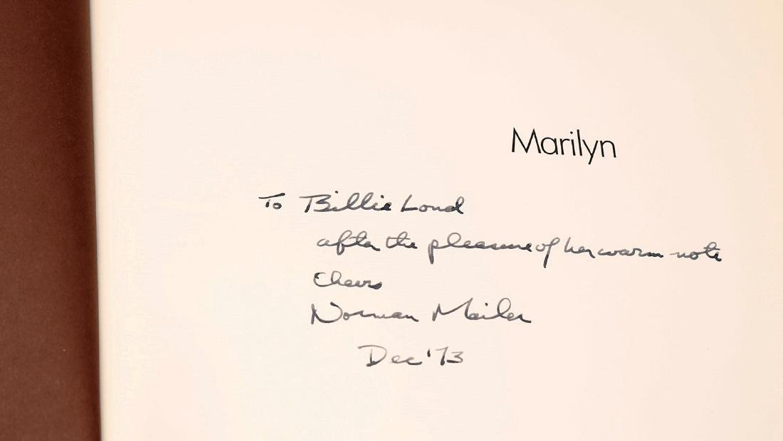 Marilyn Signed by Norman Mailer , First Printing - 2