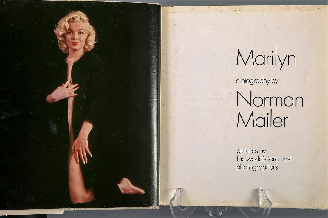 Marilyn Signed by Norman Mailer , First Printing - 3