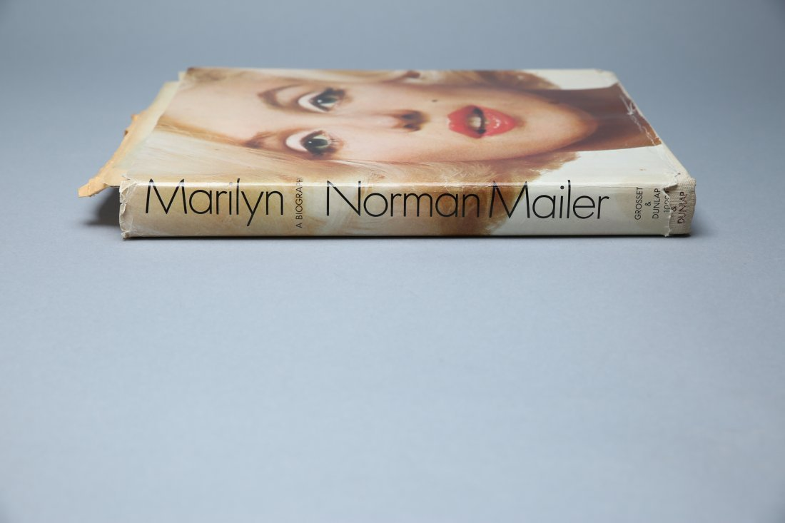 Marilyn Signed by Norman Mailer , First Printing - 5