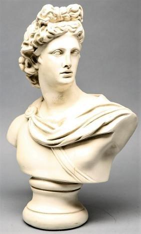 Vintage Apollo Bust
