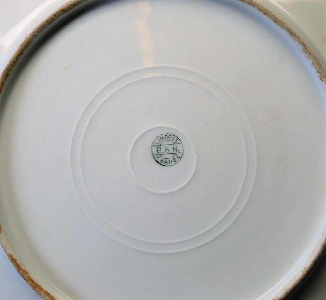 Antique B&H Limoges Game Bird Plate - 2