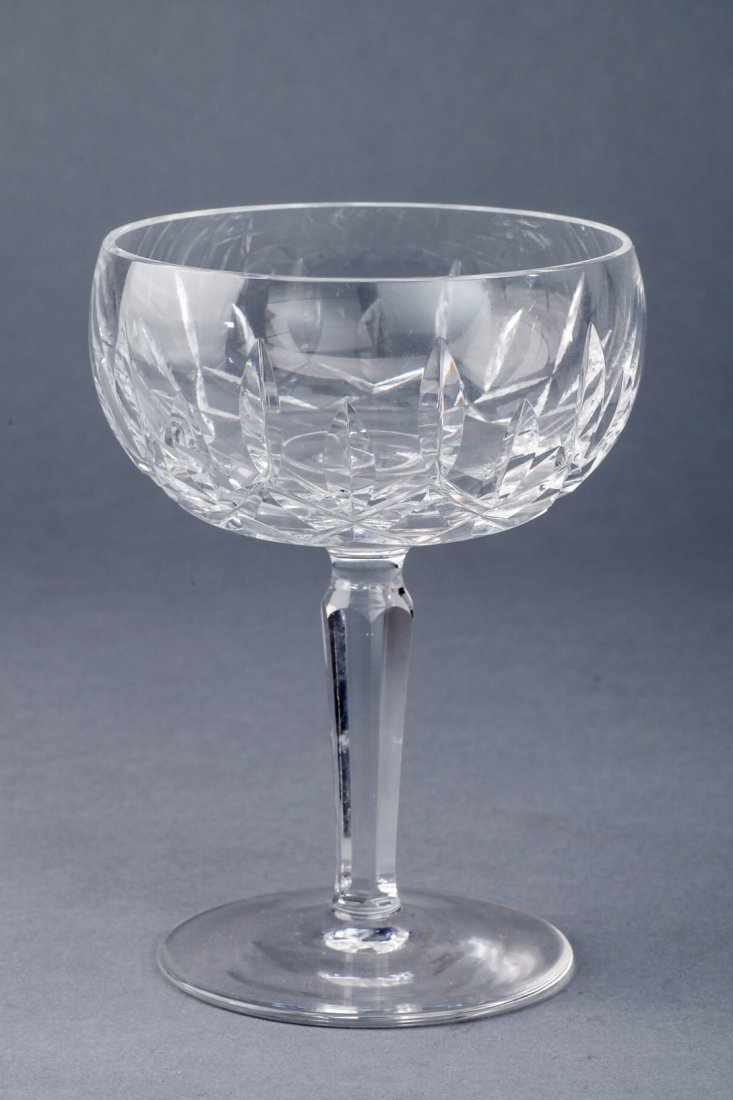 Lot of Waterford Kildare Crystal Stem Glasses - 6