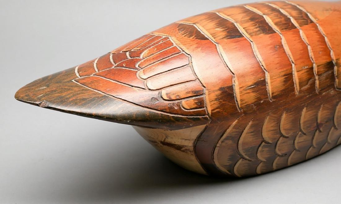 Vintage Hand Carved Goose by Tom Taber & Hersey Kyle Jr - 3
