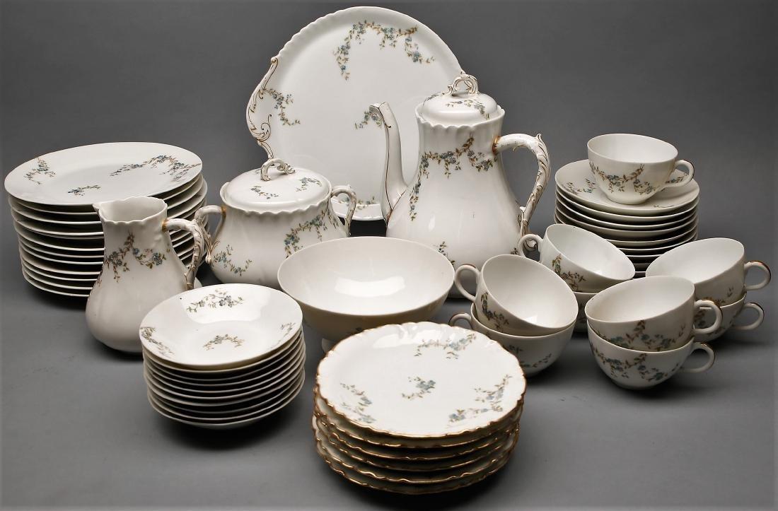 Assembled Set of Antique  Limoges China