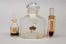 Vintage Lot of Vintage Baccarat Perfume Bottles