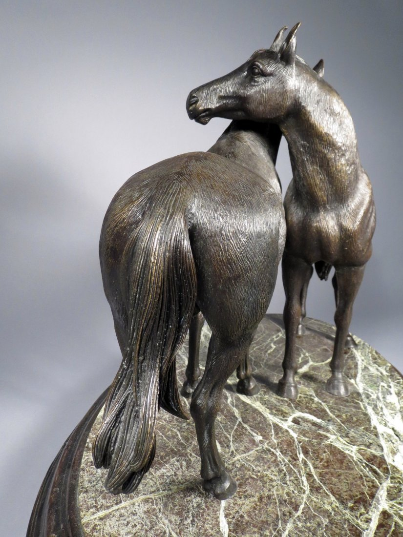 "Theodore Alexander ""Pierre's Pair"" Horse Statue - 3"