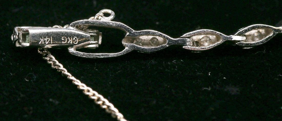 Vintage Hamilton 14k Gold & Diamond Ladies Watch - 4