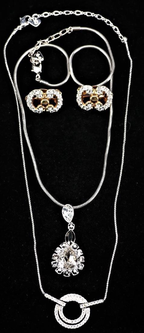 3 pc Swarovski Jewelry Lot
