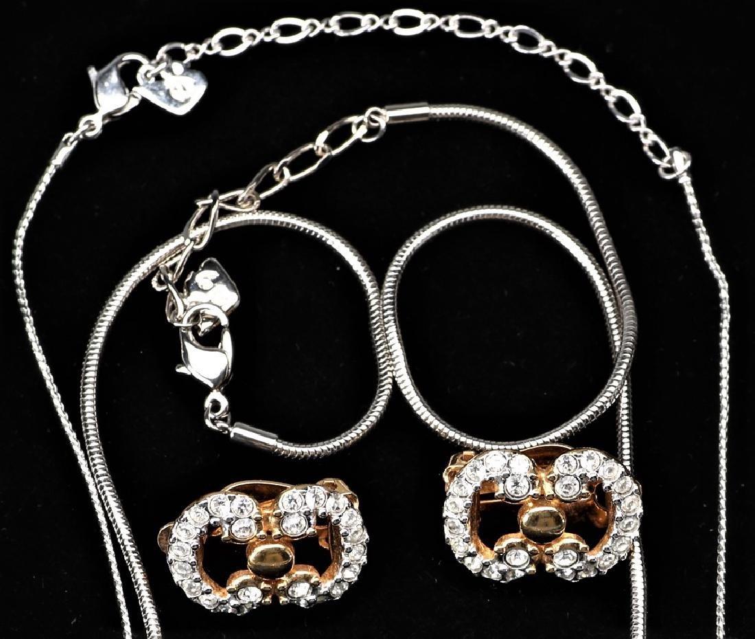 3 pc Swarovski Jewelry Lot - 2