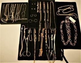 Box lot of costume jewelry