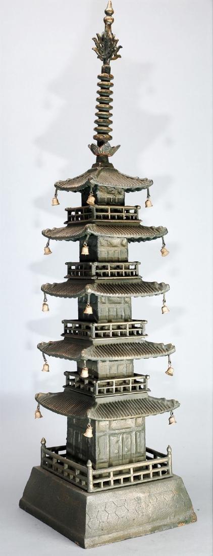 Beautiful Decorative Japanese Pagoda - 3