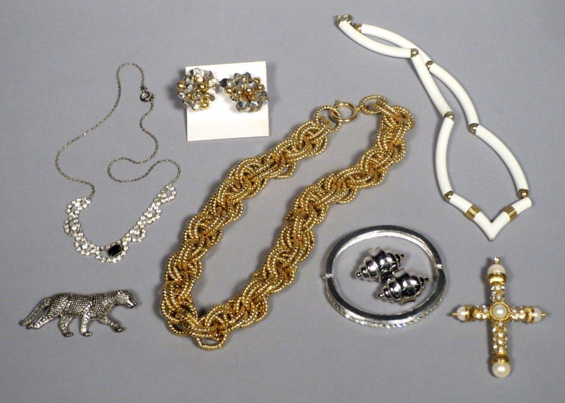 Box of Costume Jewelry - 2