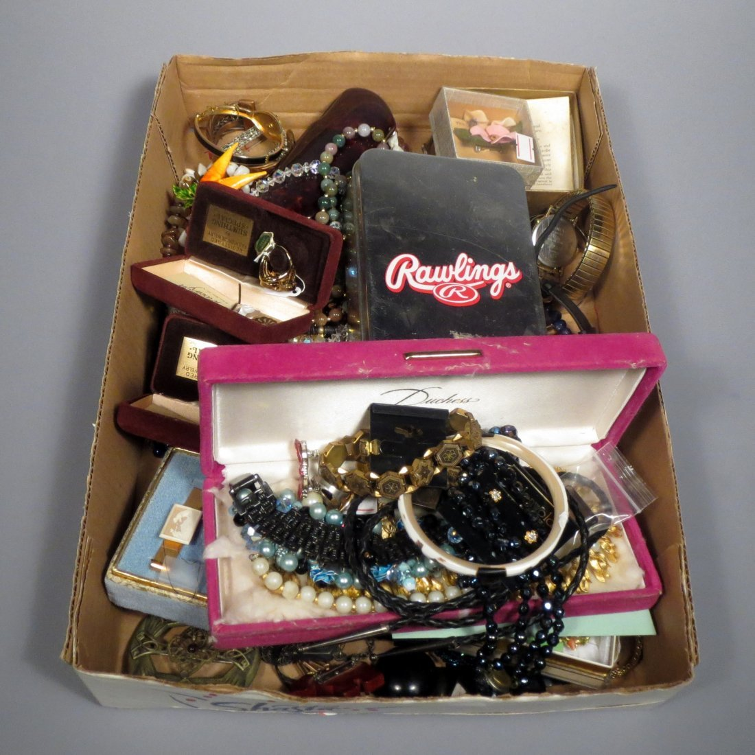 Box of Costume Jewelry and more surprises