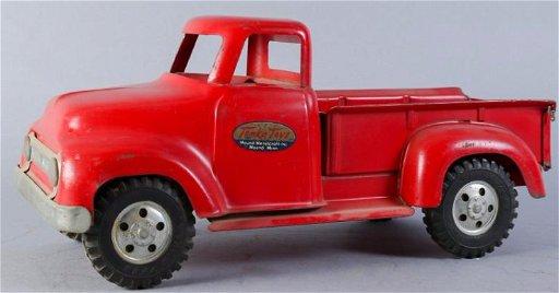 Red 1953 Tonka/Mound Metalcraft Inc  Truck