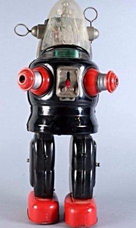 c1950 Robby the Robot Nomura Tin Toy