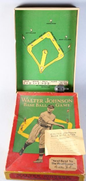 c1920 Walter Johnson Base Ball Game