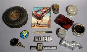 Vintage Box Lot Various Ford Items