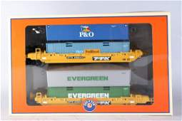 Mint in Box Lionel Trailer Train Maxi Stack Pair