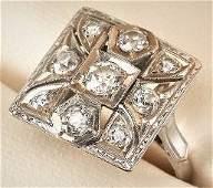 Beautiful 1.40ct Diamond & 14k Gold Ring