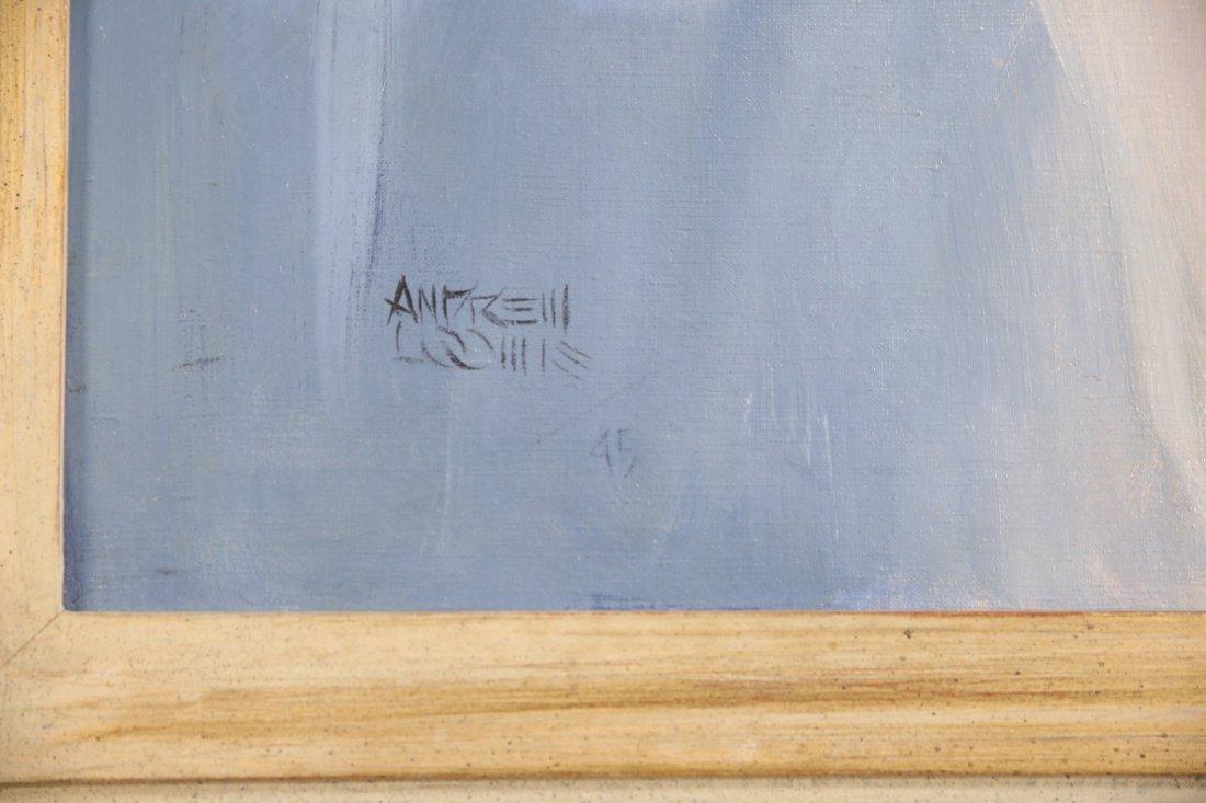 Orig. Oil Painting of Jane Russell by Andrew Loomis - 3