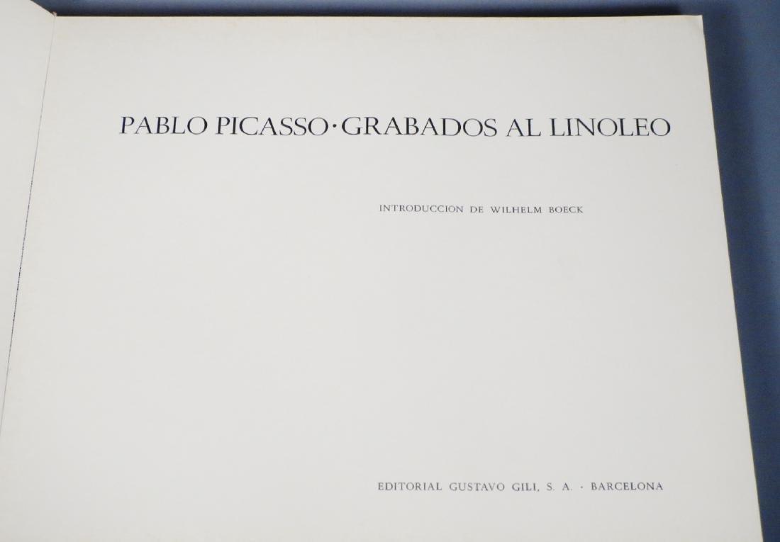 Pablo Picasso-Grabados Al Linoleo, 1963 Book Linocuts - 4