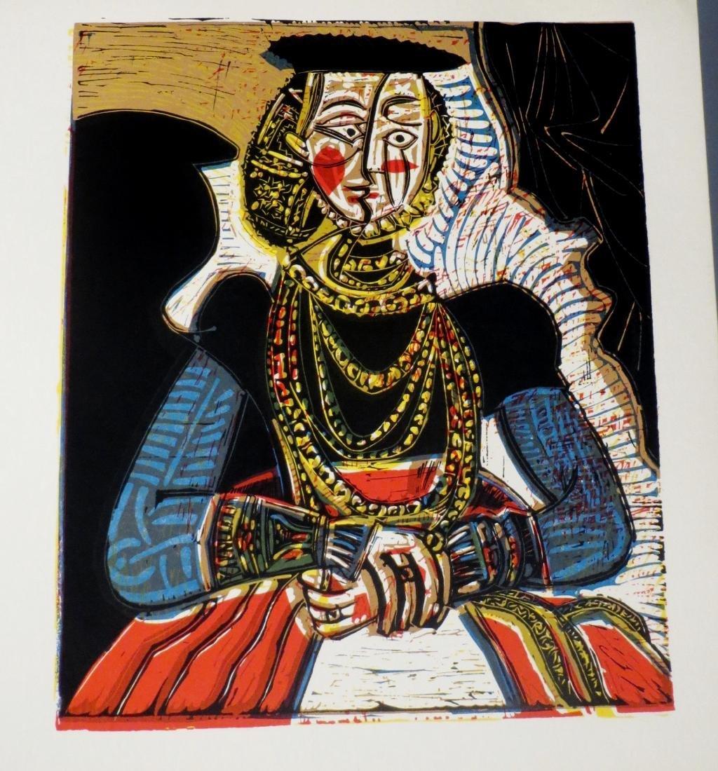 Pablo Picasso-Grabados Al Linoleo, 1963 Book Linocuts - 6