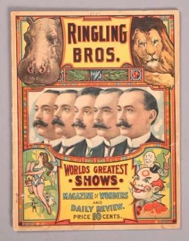 1909 Ringling Brothers, Magazine of Wonders & Daily