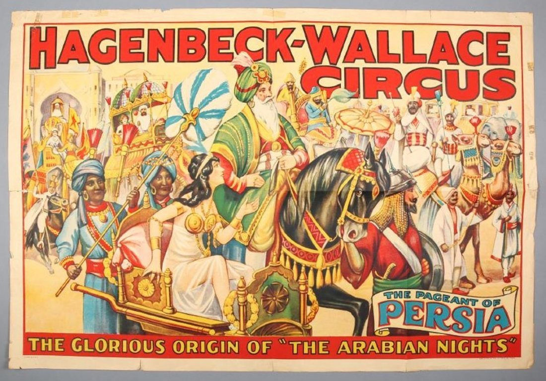 Hagenbeck-Wallace  Circus Pageant Of Persia