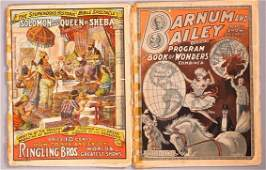 1904 Barnum  Bailey Program Ringling Brothers 1914