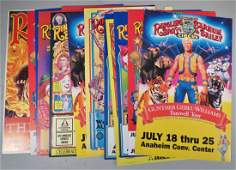 Contemporary Lot Ringling BrosBarnum  Bailey Posters