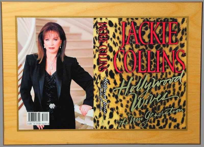 1st Ed. Publishers Gift Jackie Collins, Hollywood Wives