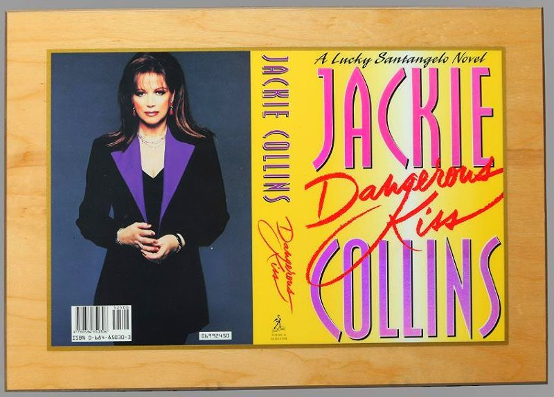 1st Ed. Publishers Gift Jackie Collins, Dangerous Kiss