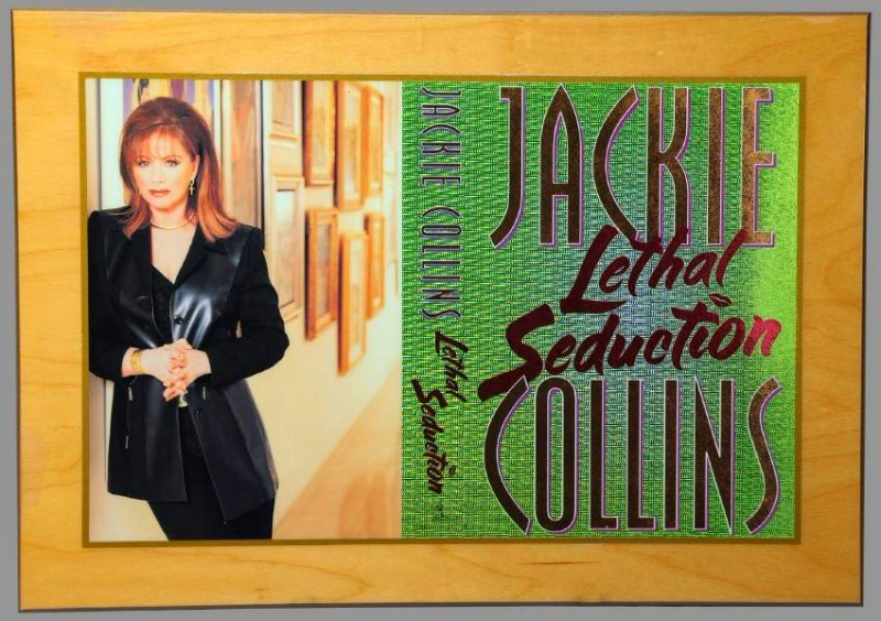 1st Ed.Publishers Gift Jackie Collins Lethal Seduction