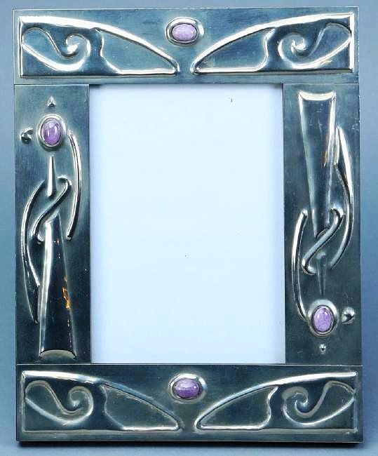 Sasha Bowles Pewter/Amethyst Picture Liberty Frame