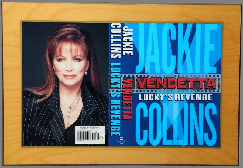 1st Ed. Publishers Jackie Collins, Vendetta, Lucky's