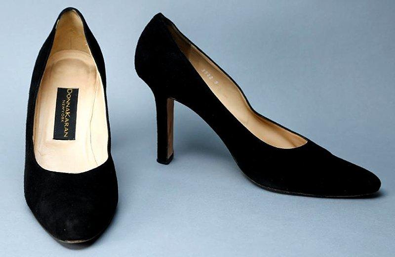 Black Donna Karan Heels
