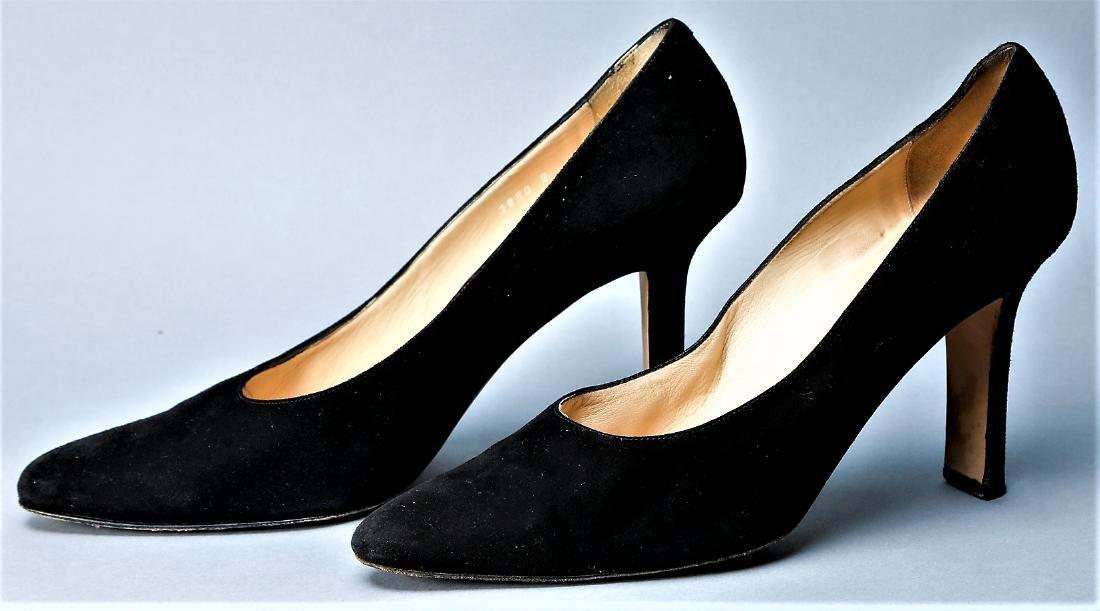 Black Donna Karan Heels - 2