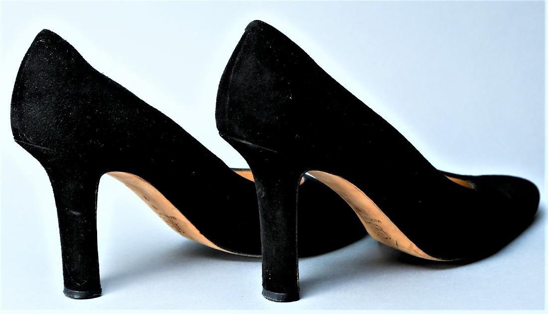 Black Donna Karan Heels - 4
