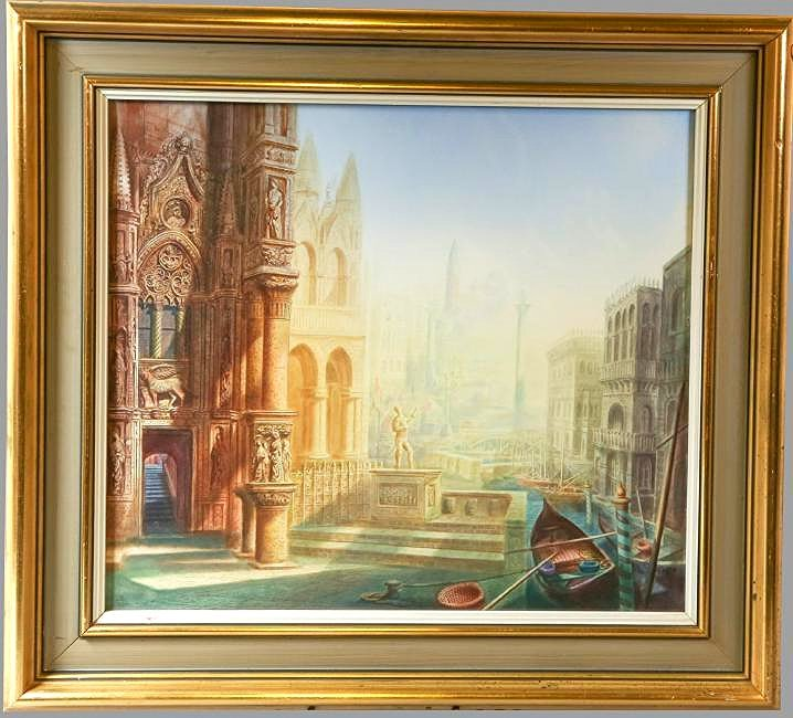 Harold Hitchcock, Imaginative View of Venice,
