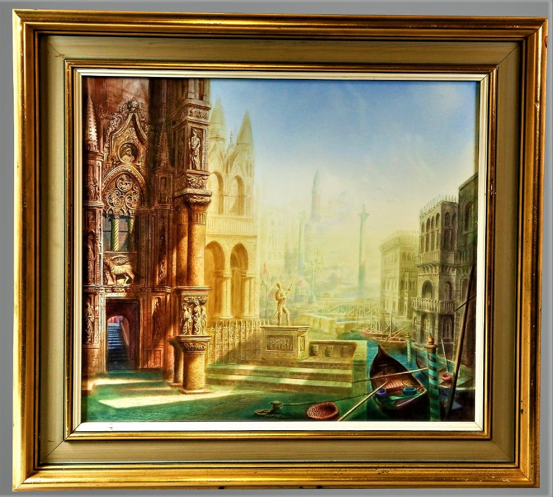 Harold Hitchcock, Imaginative View of Venice, - 2